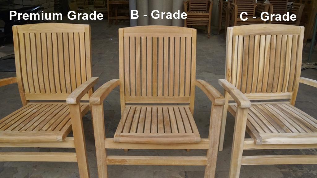 Premium grade teak furniture